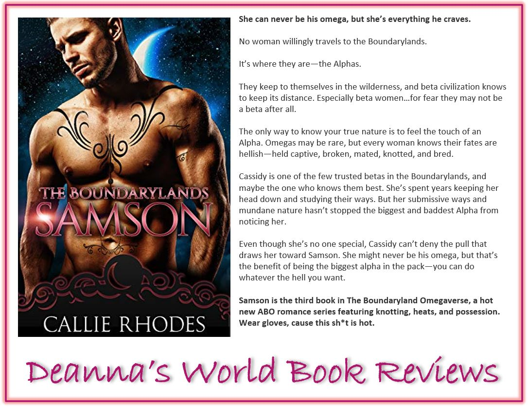 Samson by Callie Rhodes blurb