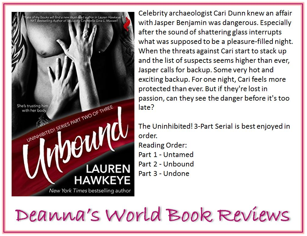 Unbound by Lauren Hawkeye blurb