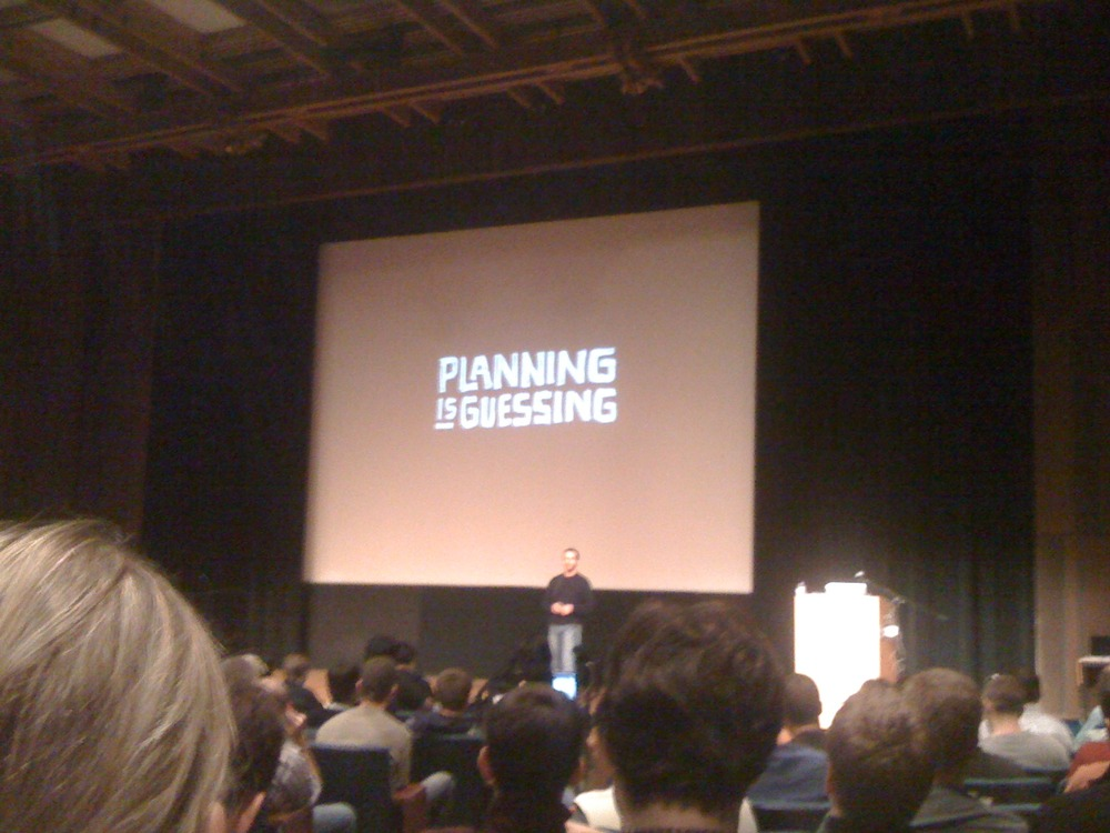 Jason Fried, CEO, 37signals - Planning is Guessing