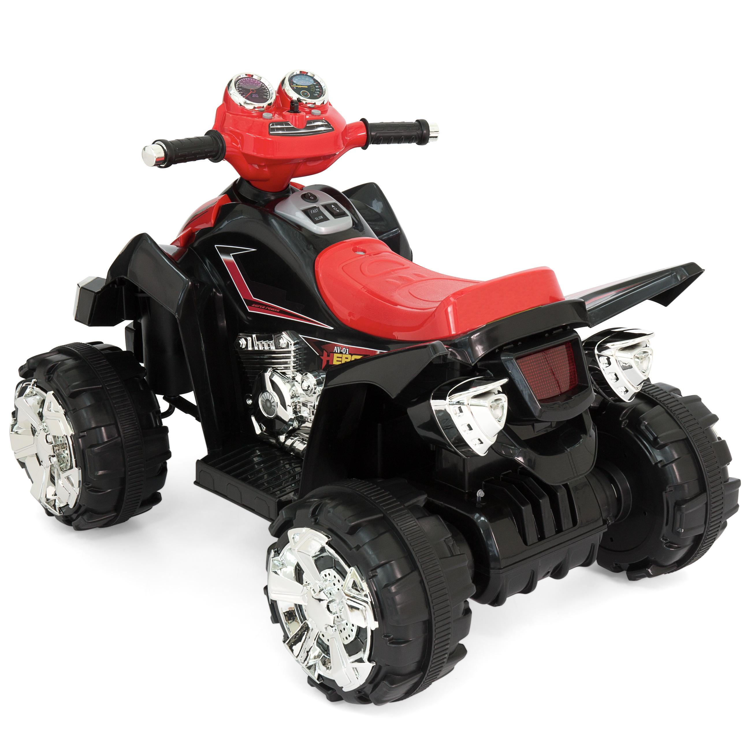 Kids ride on atv quad 4 wheeler 12v battery power electric for Motorized 4 wheeler for toddlers