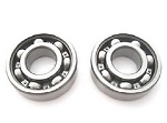Main Crank Shaft Bearings Kit Honda XR200R 1984 1985
