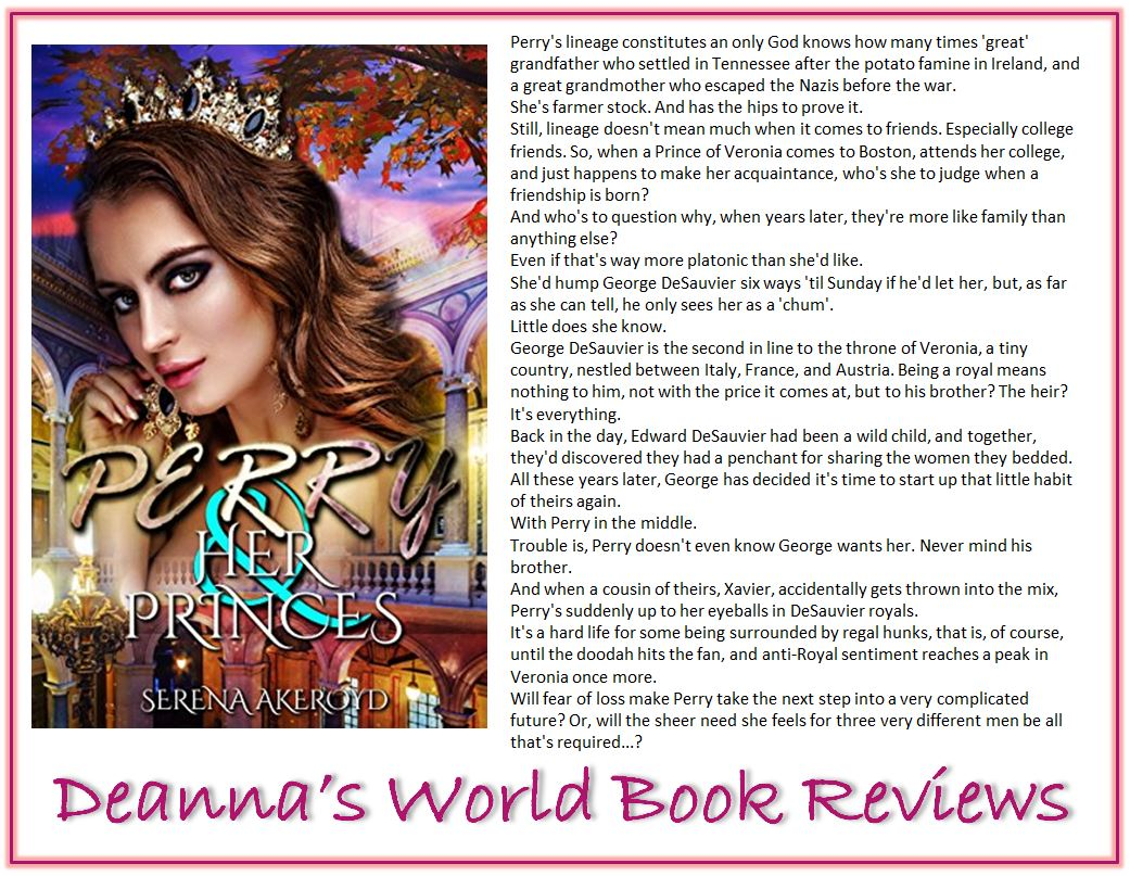 Perry and Her Princes by Serena Akeroyd blurb