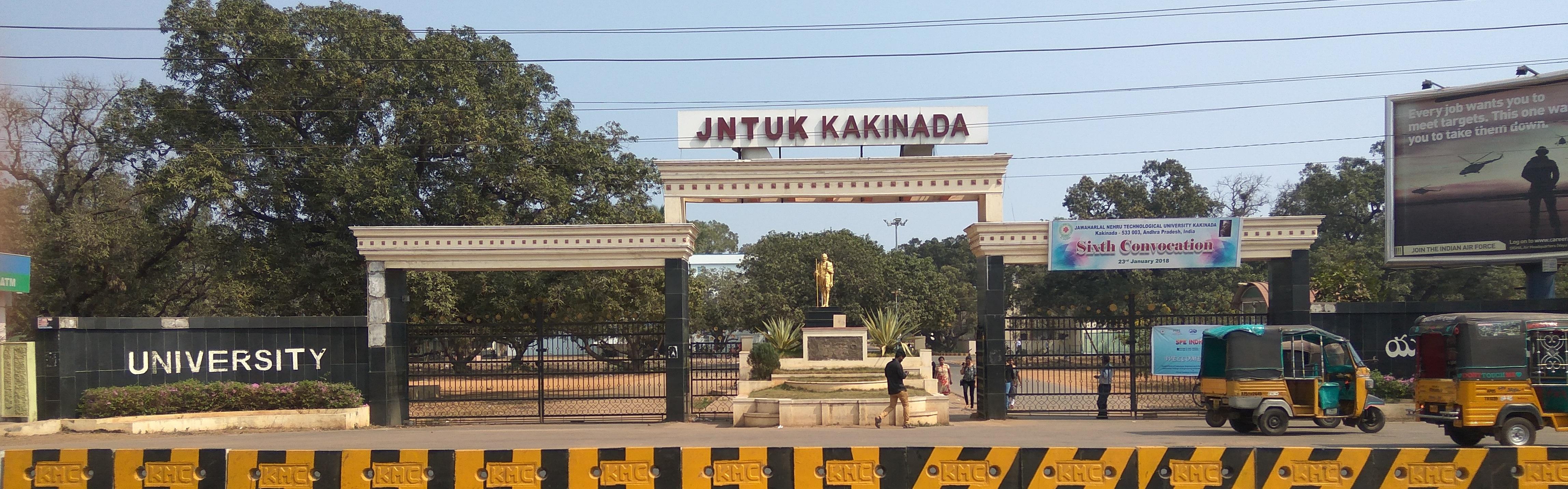 JNTU (Jawaharlal Nehru Technological University), Kakinada