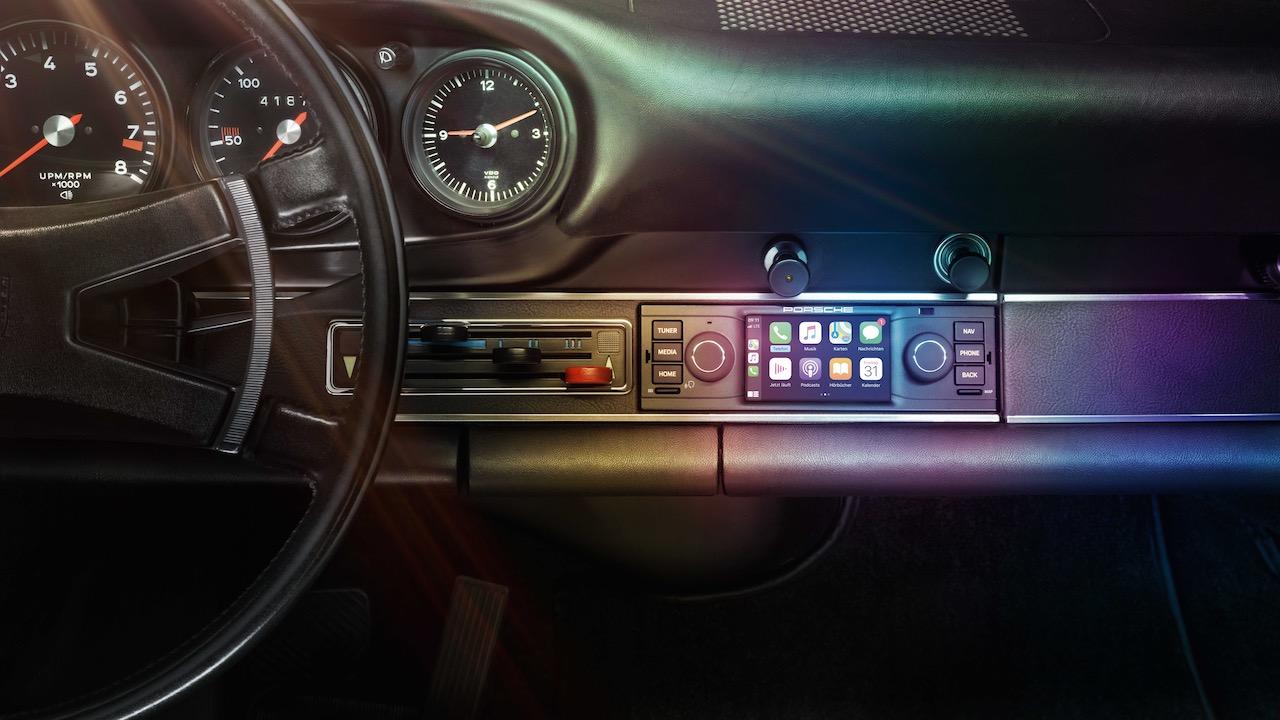 Porsche announces Apple Play radio upgrade for classic models