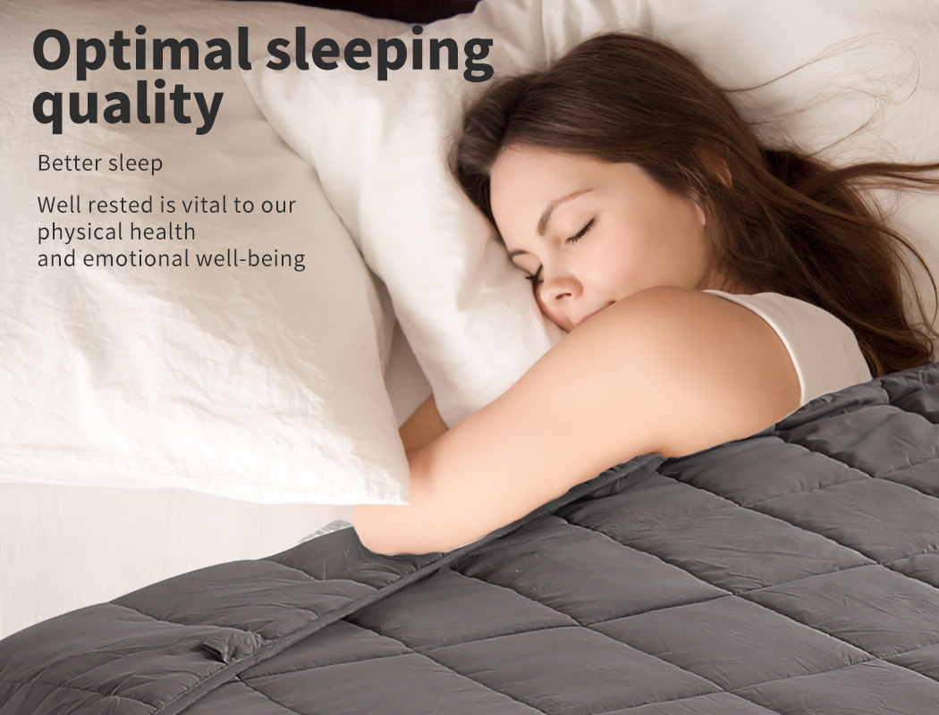 thumbnail 50 - DreamZ Weighted Blanket Heavy Gravity Deep Relax 5/7/9KG Adult Kid Double Queen
