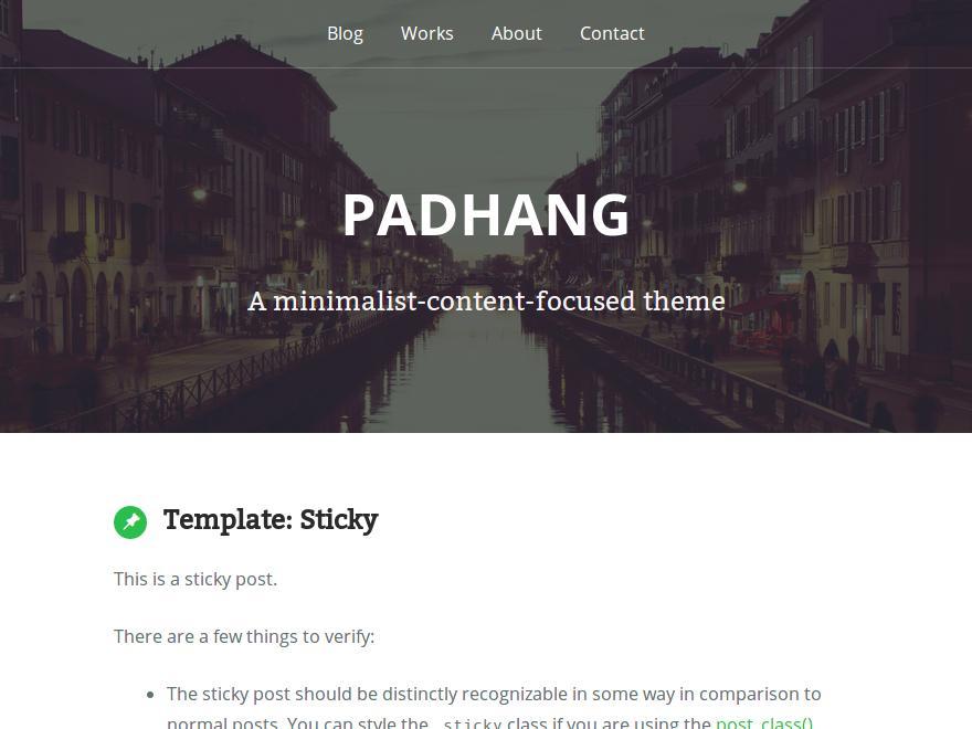 Padhang - tong hop theme thang 7