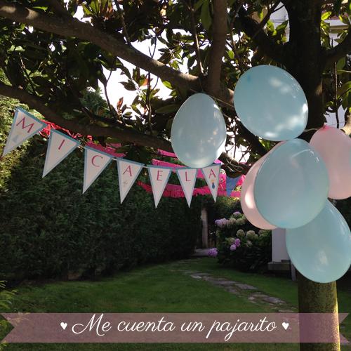 Guirnalda nombre personalizada del cumpleaños de Frozen con Elsa y Ana