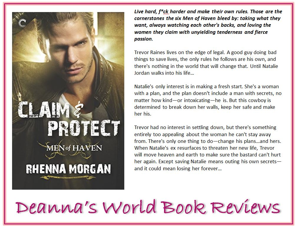 Claim and Protect by Rhenna Morgan blurb
