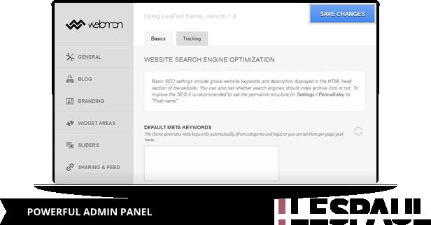 Unbranded WebMan Admin Panel