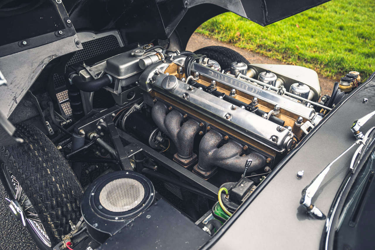 Chassis No 60 Jaguar E-Type up for grabs with Silverstone Auctions