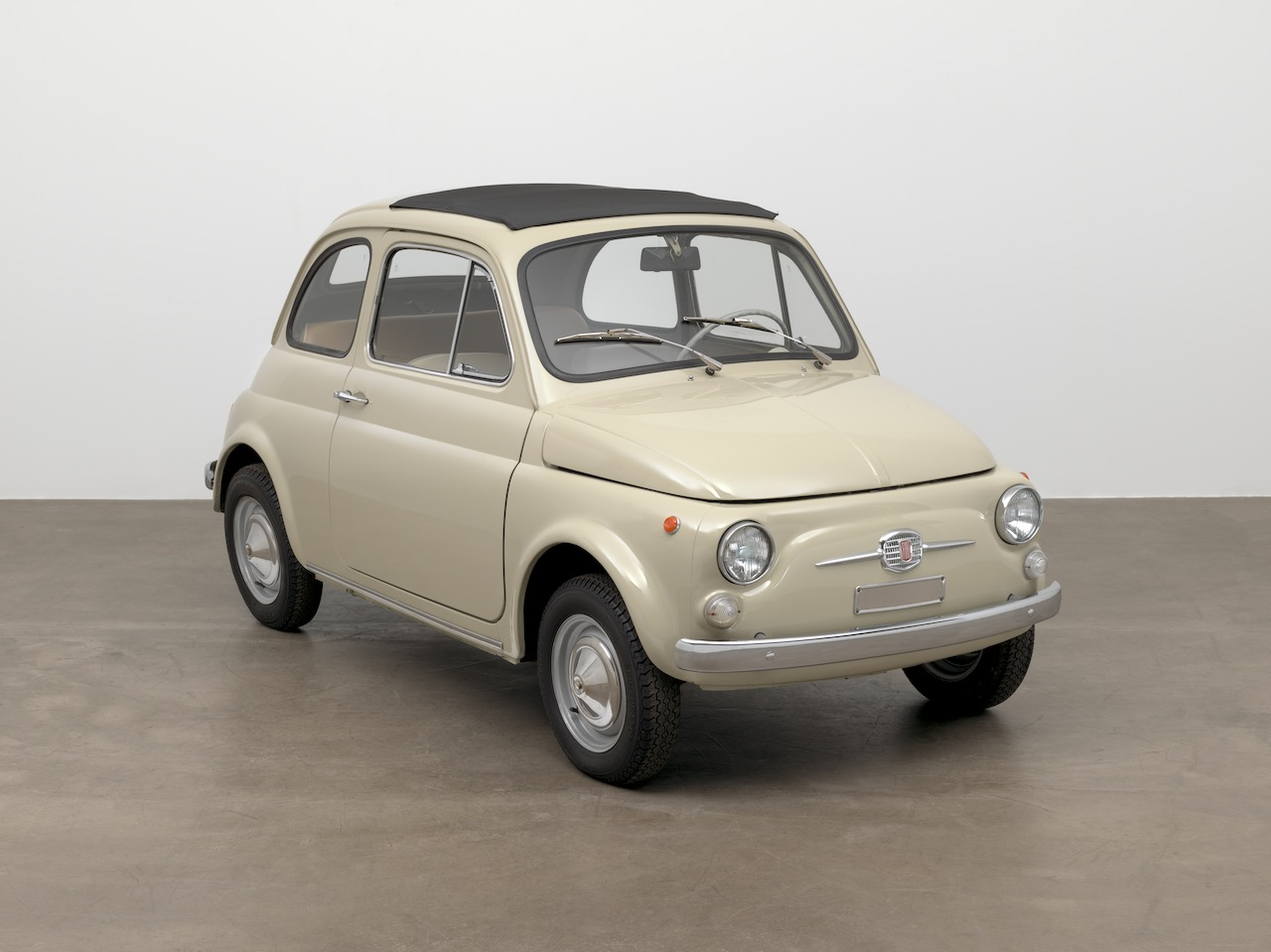 Fiat 500 goes on display at the New York Museum of Modern Art