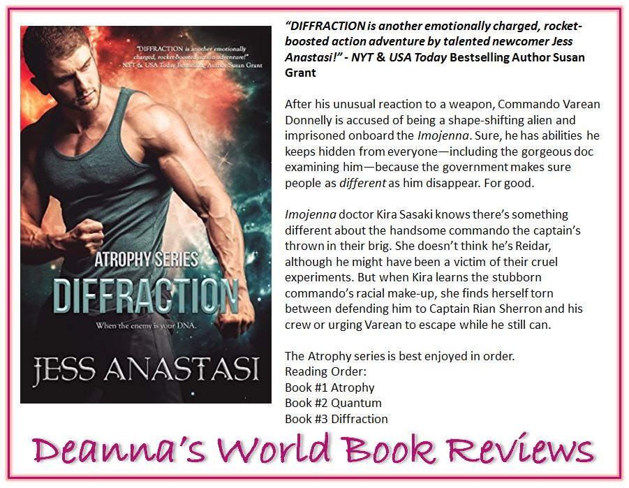 Diffraction by Jess Anastasi blurb
