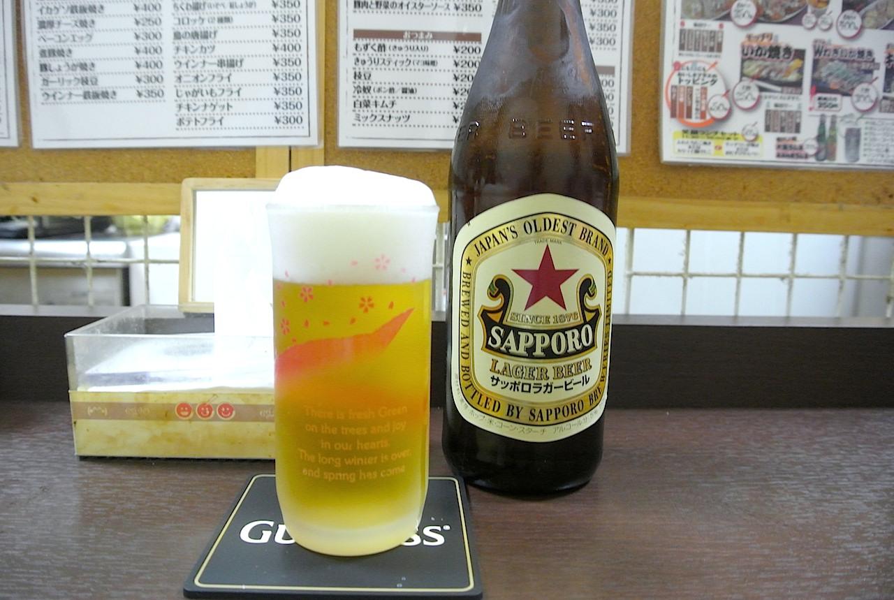 サッポロビール ラガー 赤星