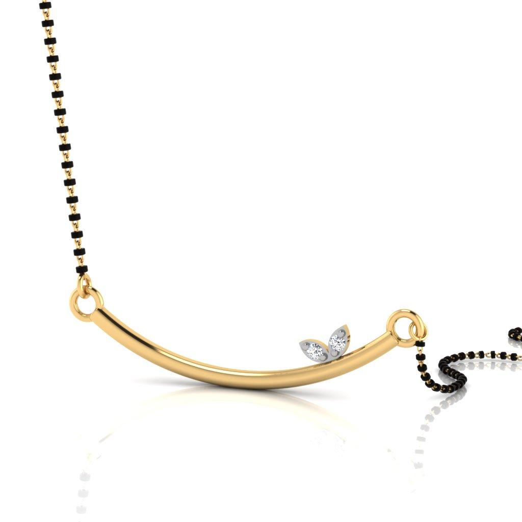 The Alisia Diamond Mangalsutra