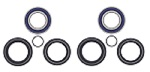 Both Front Wheel Bearings Seals Kit Honda TRX500FPA Rubicon 4x4 EPS 2012 2013