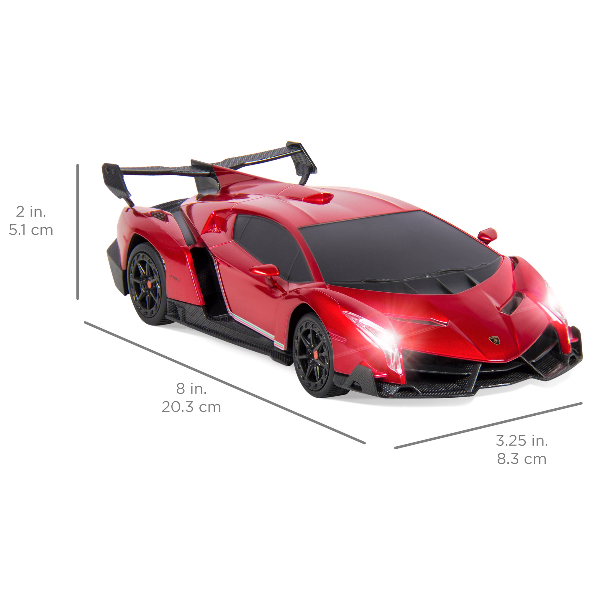 BCP-1-24-Kids-RC-Lamborghini-Veneno-Racing-Car-Toy-w-Lights-Shock-Suspension thumbnail 21