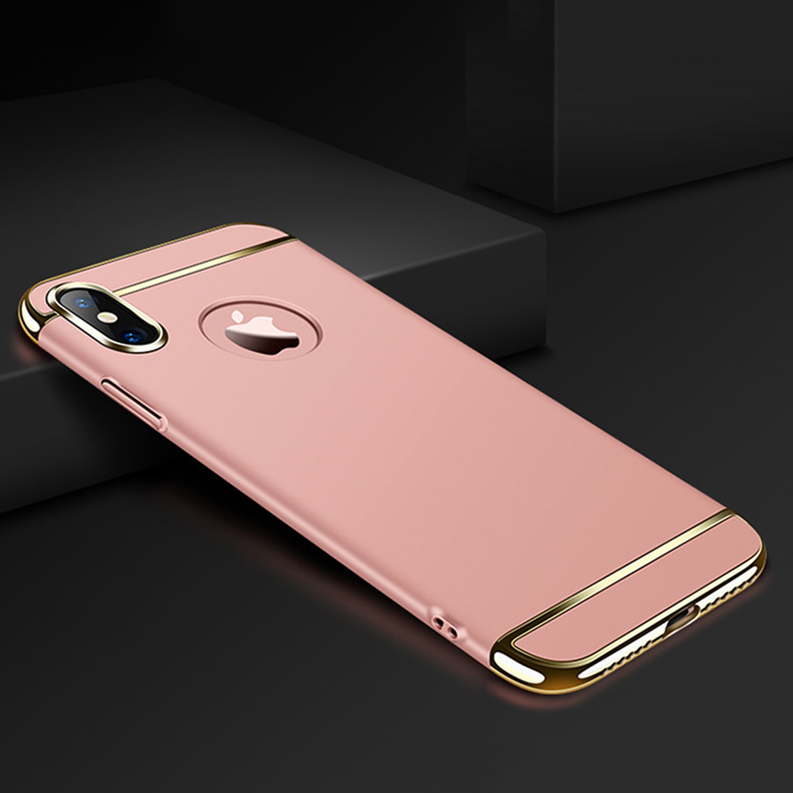 Luxury-Matte-Case-Tempered-Glass-Cover-For-Apple-iPhone-X-XS-XR-Max-10-8-7-6s-6 thumbnail 59