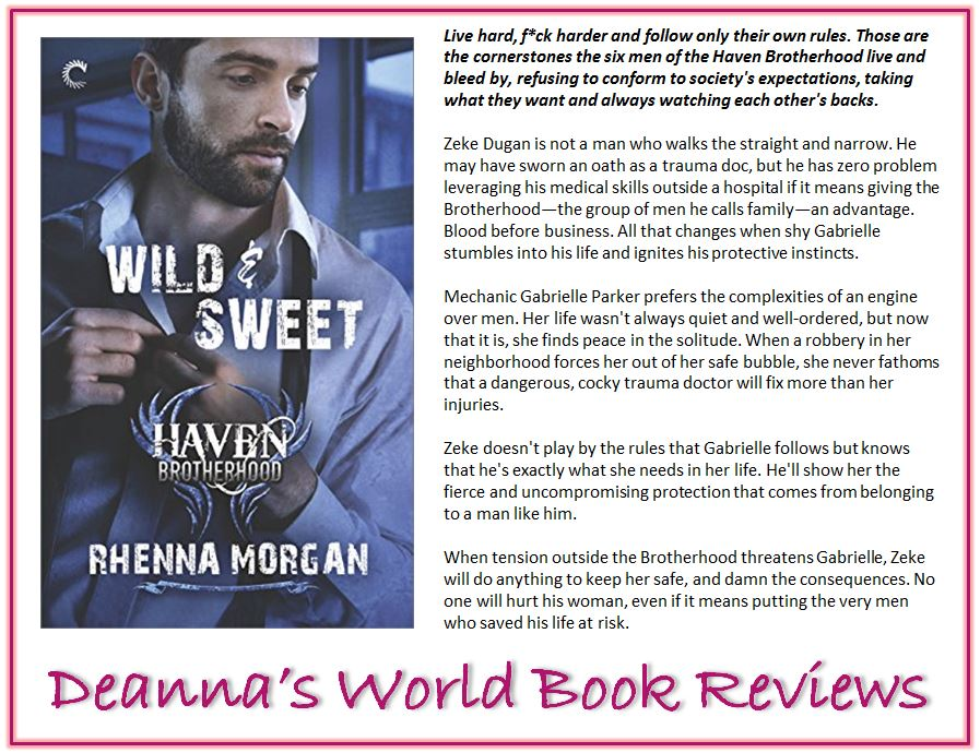 Wild and Sweet by Rhenna Morgan blurb