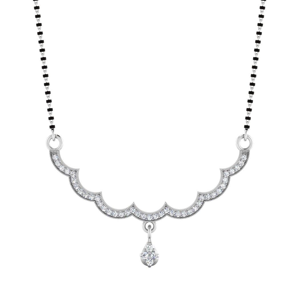The Asmita Diamond Mangalsutra