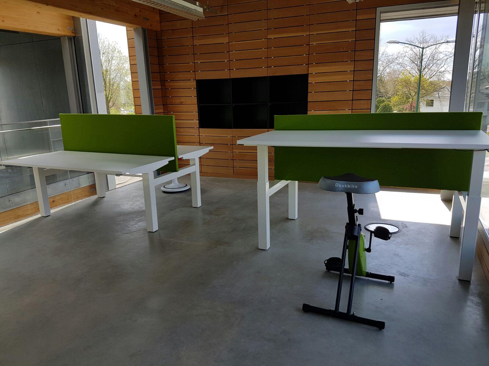 Elektrisch Dubbel zit-sta bureau - Honmove Duo