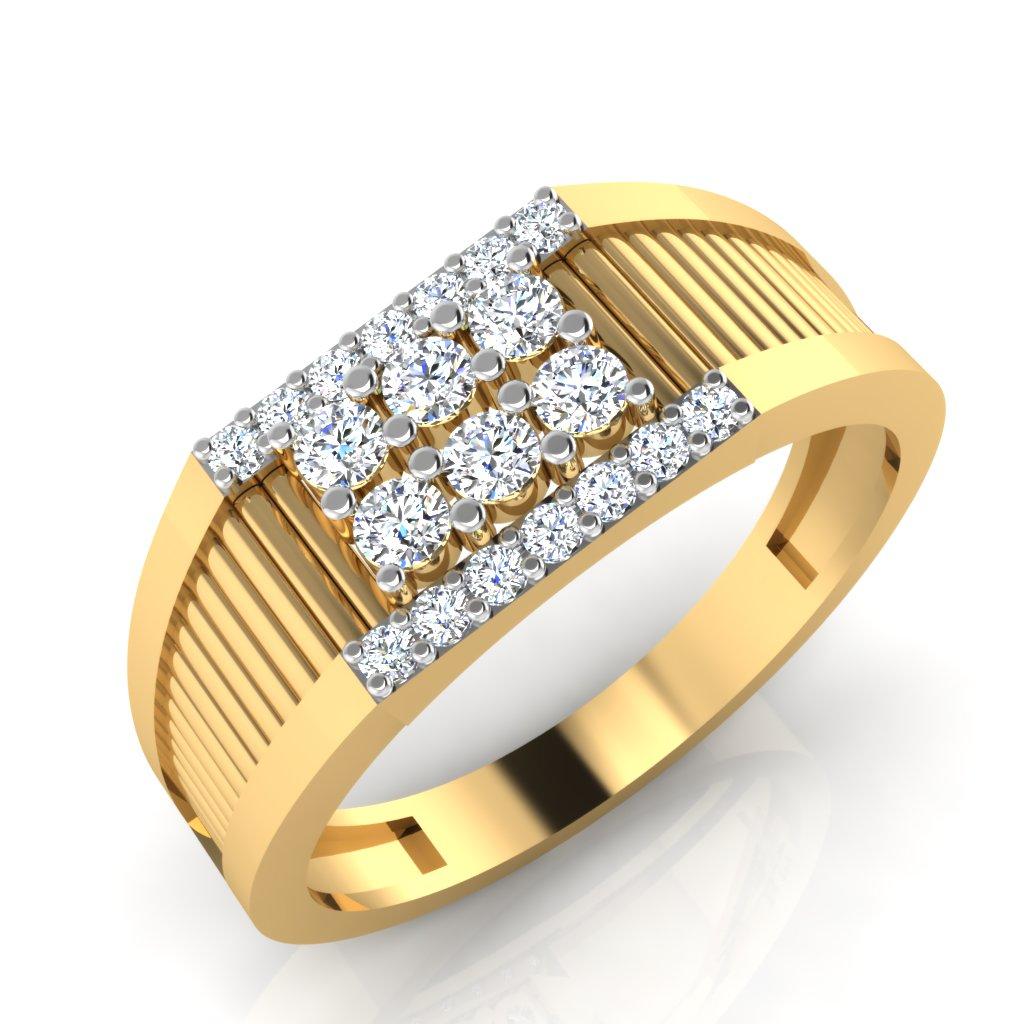 The Nooran Diamond Mens Ring