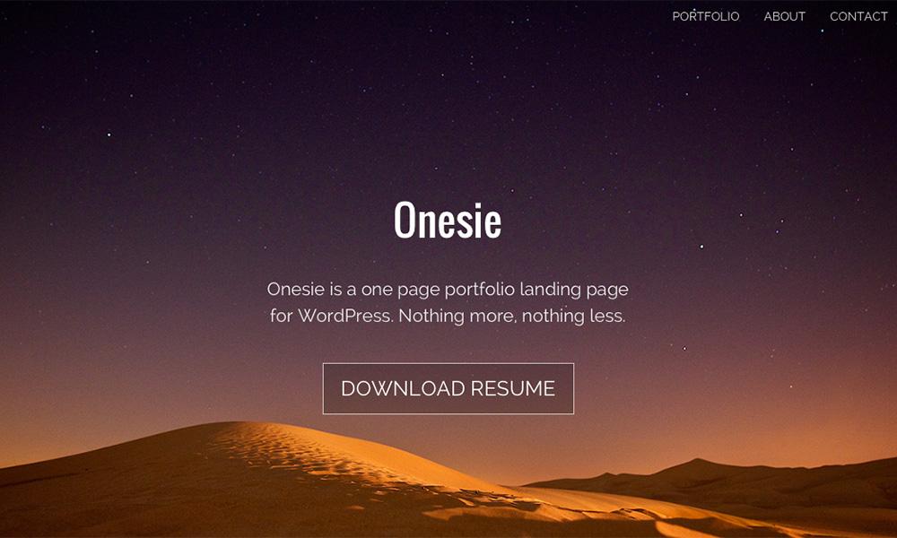 onesie - free theme thang ba