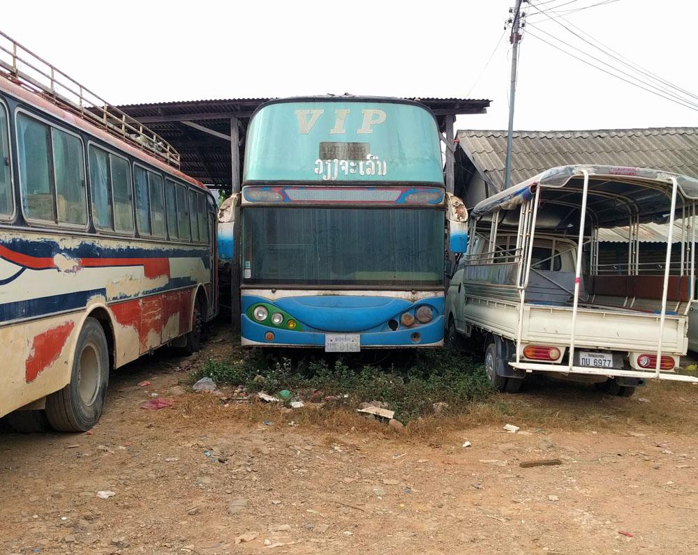 Gelukkig werd deze VIP-bus niet meer gebruikt. Hopen we.