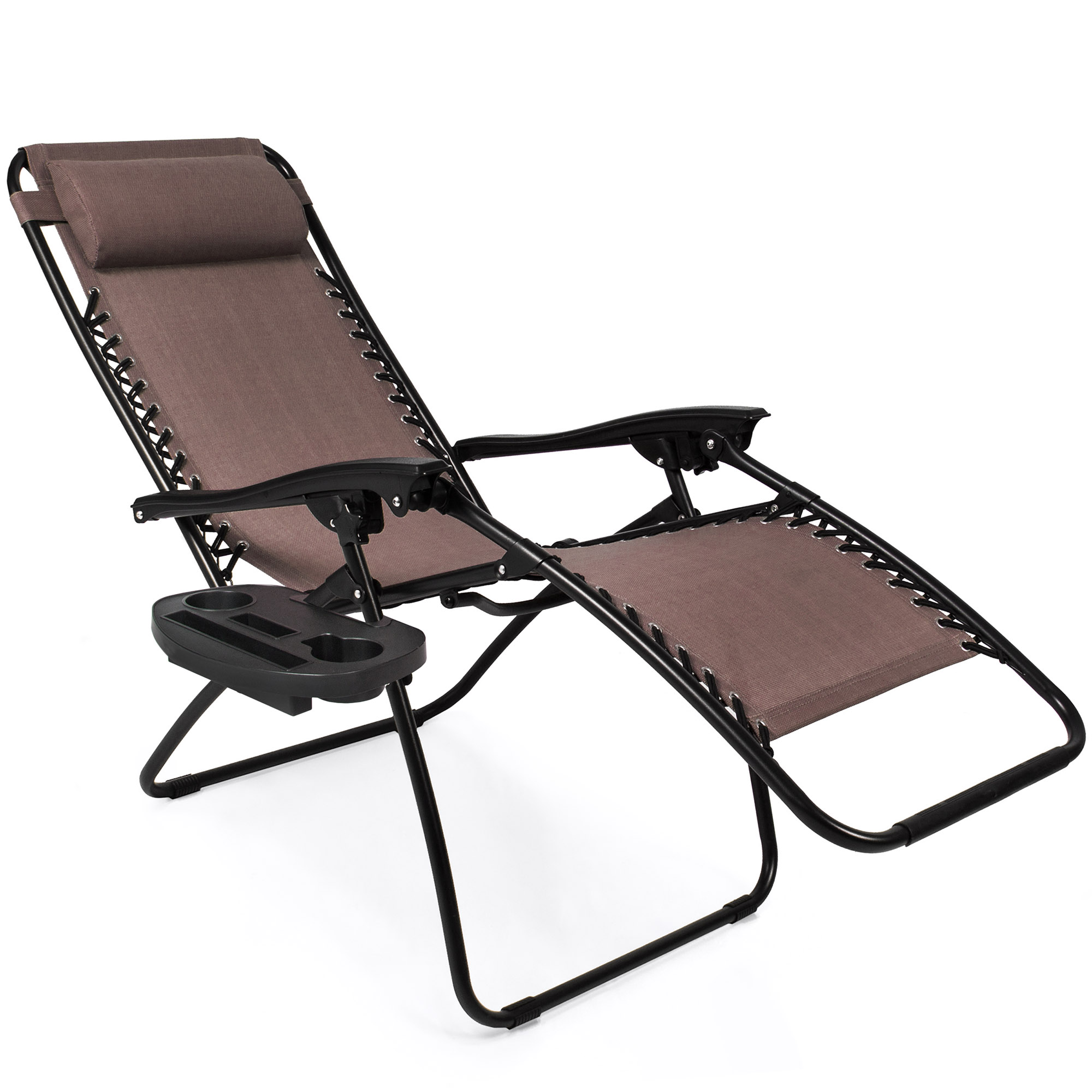 Bcp Set Of 2 Adjustable Zero Gravity Patio Chair Recliners
