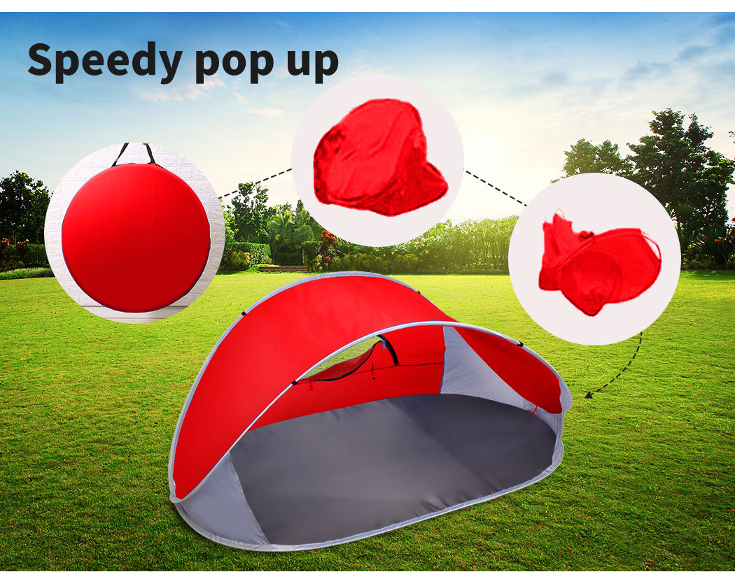 Mountvie-Pop-Up-Tent-Camping-Beach-Tents-4-Person-Portable-Hiking-Shade-Shelter thumbnail 39