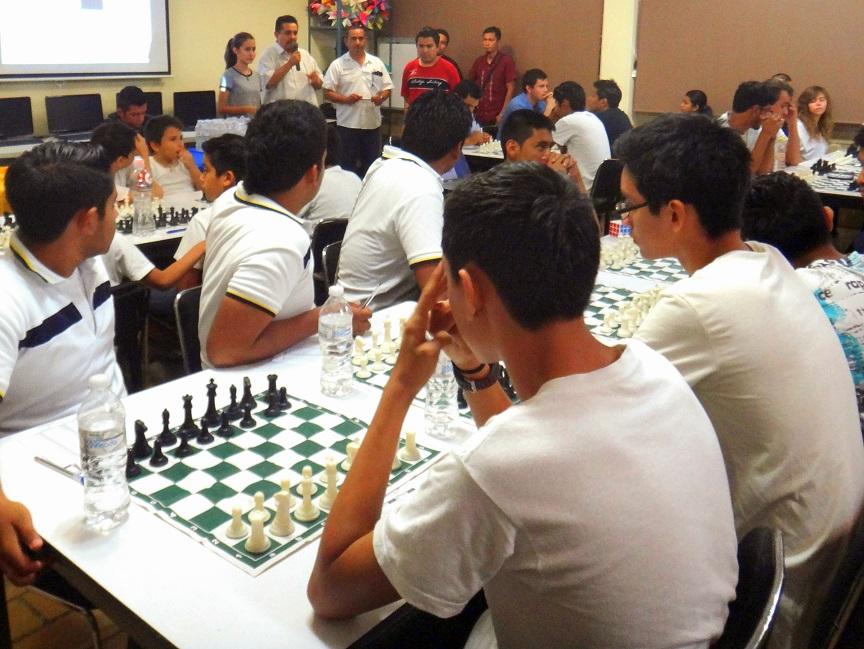 Inauguración del Campeonato por Equipos de Ajedrez