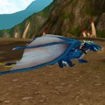 Safírový drak