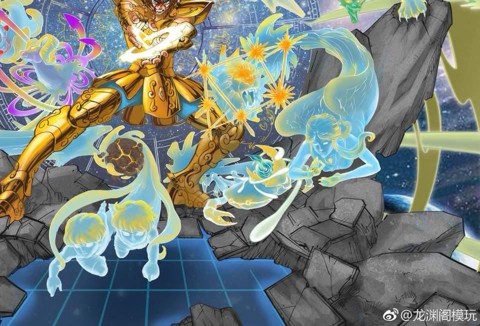 [Star Model Studio] Regulus du Lion - The Lost Canvas FB_IMG_1529755506861