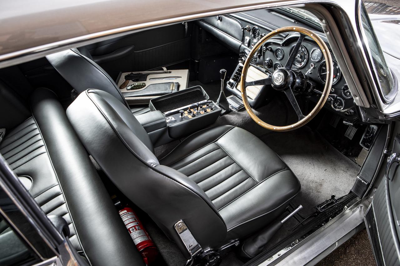 James Bond Aston Martin DB5 up for auction