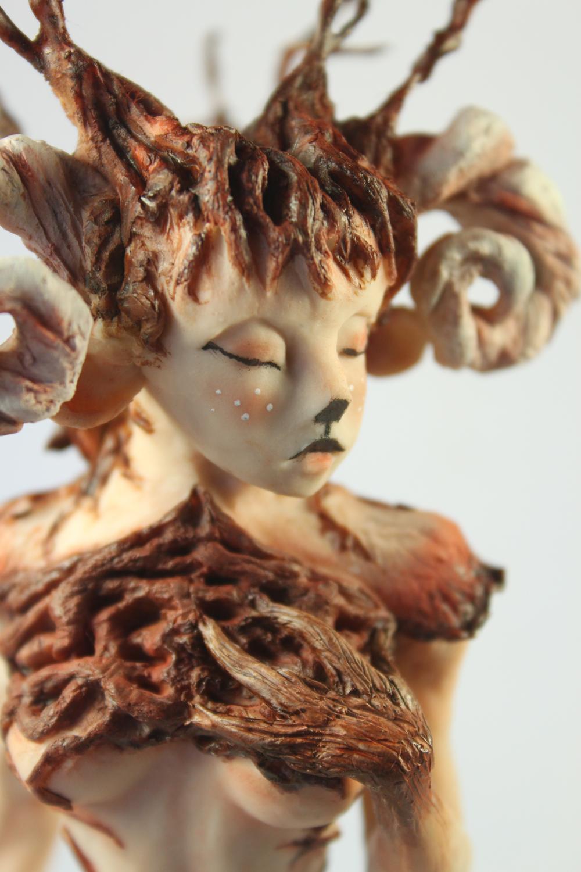 Female Faun by Julie Sharpe
