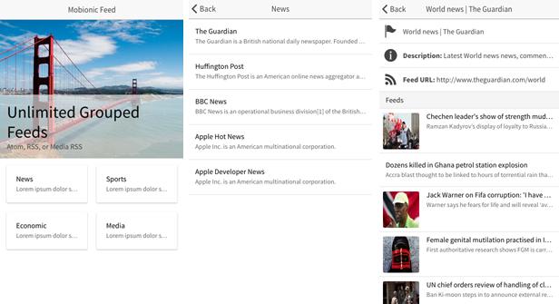 Mobionic - PhoneGap / Cordova Full Hybrid App - 8