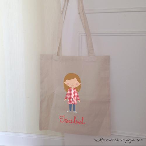 bolsa de tela personalizada regalo para profesora y profesor