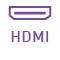 Dieses Laptop hat einen integrierten HDMI-Anschluss.