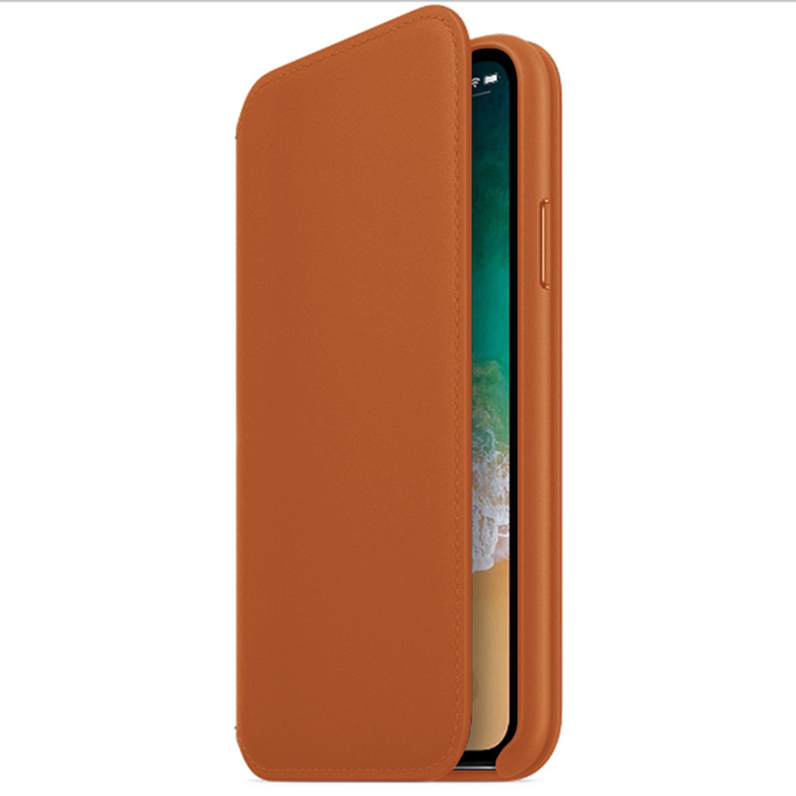 Nouveau-cuir-flip-portefeuille-Folio-Telephone-Etui-Housse-Pour-Apple-iPhone-11-Pro-Max-Xs-XR miniature 30