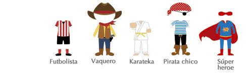 Cómo personalizar tu dibujo, disfraces niños