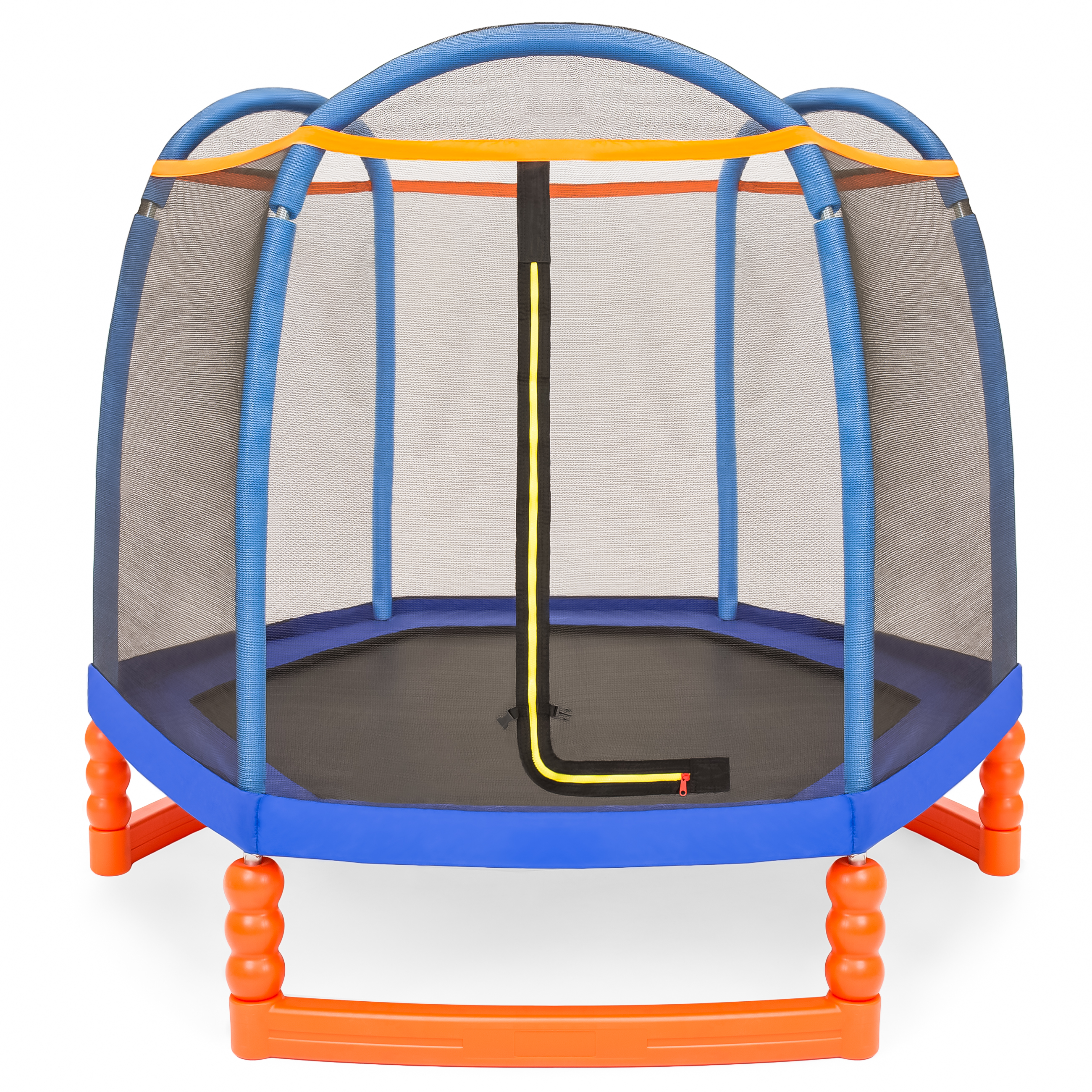 BCP 7ft Kids Indoor/Outdoor Mini Trampoline W/ Safety Net