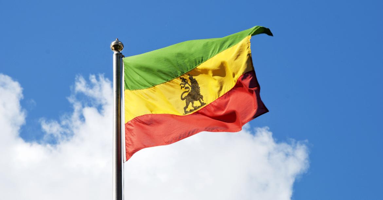 Bandera de Abisinia