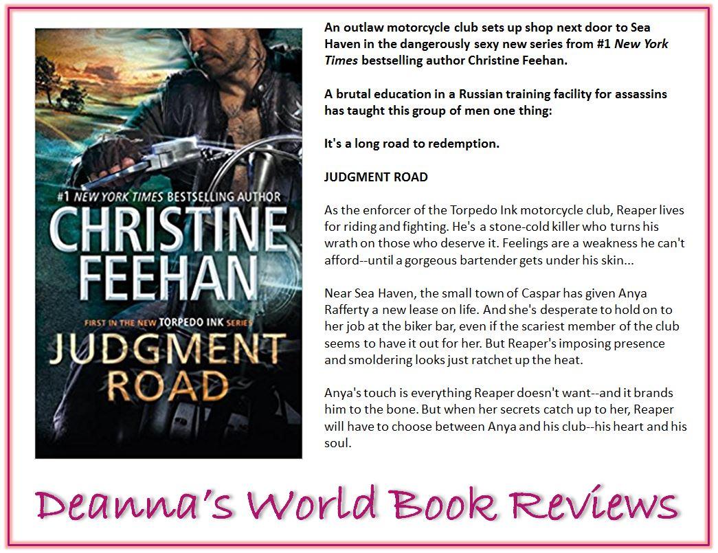 Judgment Road by Christine Feehan blurb