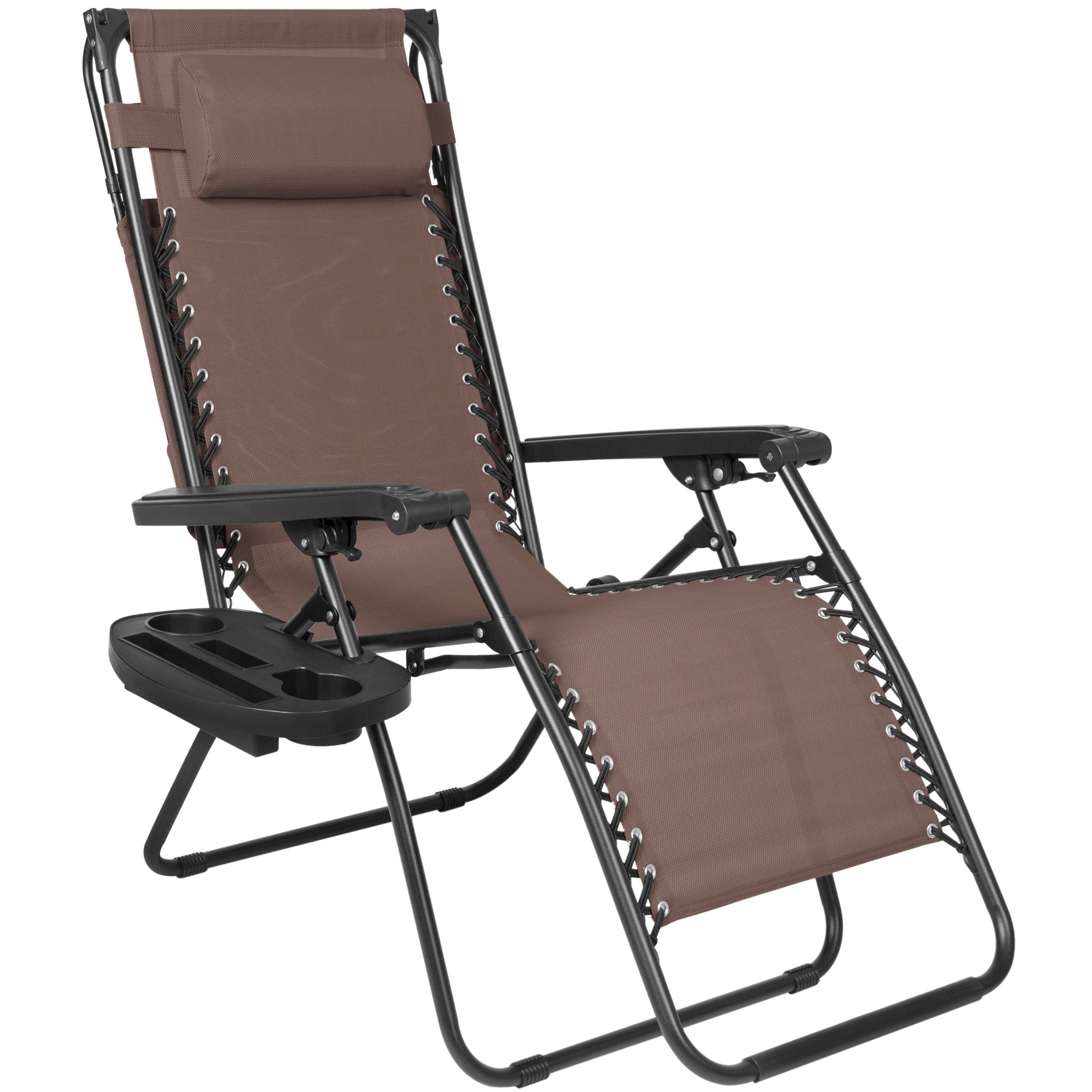 Folding Zero Gravity Lounge Chair W Canopy Amp Magazine Cup