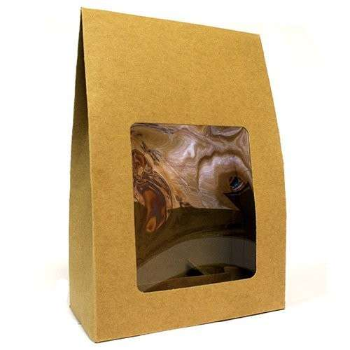 flat pack gift box - window large
