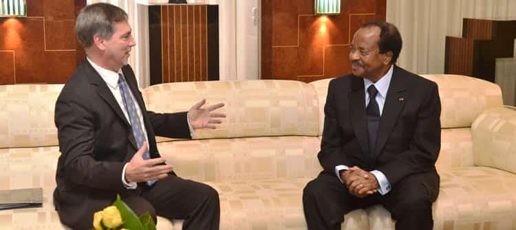 Ambassadeur des États-Unis reçu a Yaounde sous le signe de la continuité