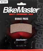 Rear Brake Pads BikeMaster 96-1252 Polaris Sportsman 400 4x4 HO 2011 2012 2013