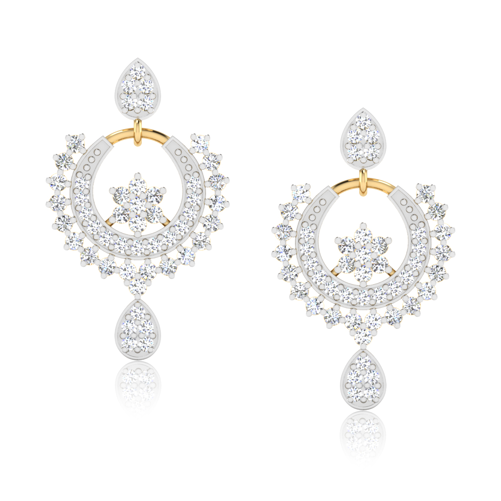 The Ananya Diamond Chand Bali