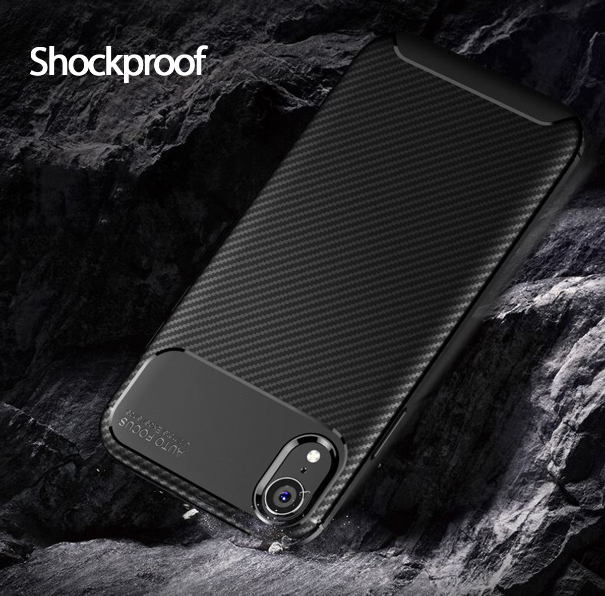 Case-for-iPhone-Carbon-Fibre-Soft-Cover-TPU-Silicone-Slim-11-X-XR-Max-8-7-6-Plus thumbnail 18