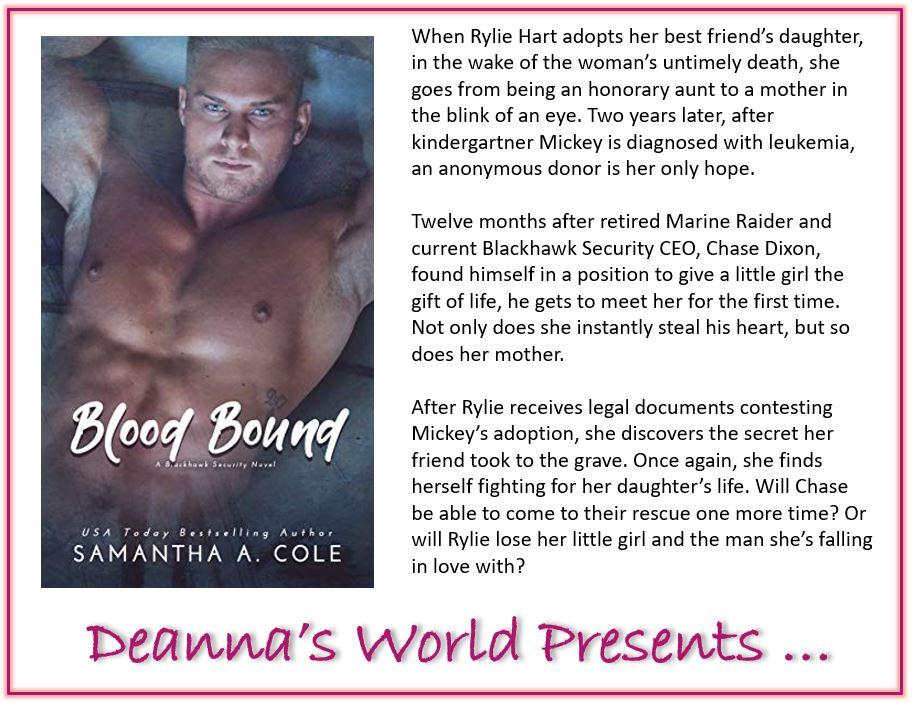 Blood Bound by Samantha A Cole blurb