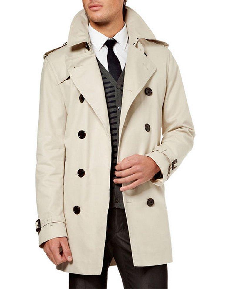 Пальто мужское - вечный тренд для ценителей элегантности